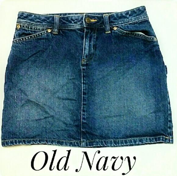 Old Navy Dresses & Skirts - Misses Old Navy Denim Mini-Skirt Size 2